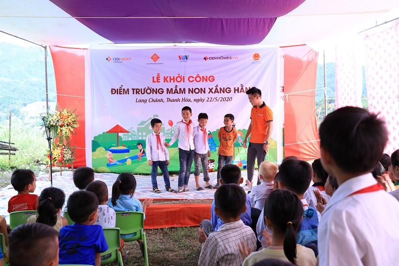 Hoạt động từ thiện của CenGroup