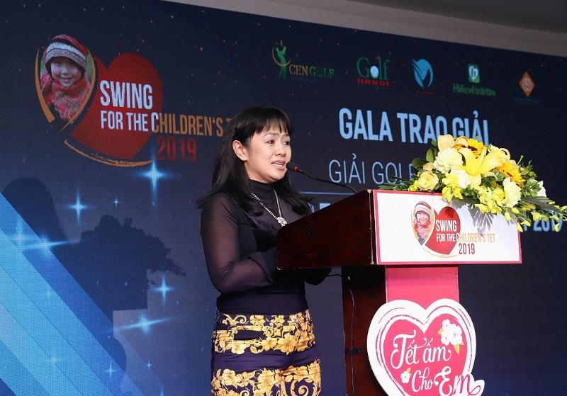 Gần 3 tỷ đồng được quyên góp ở Giải golf từ thiện Swing for the children's Tet 2019